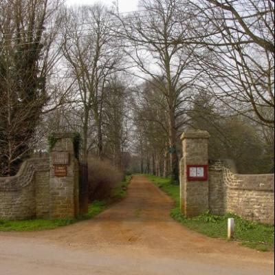 Entrance to the Abbey Grounds