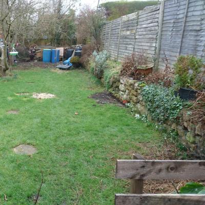 back garden right