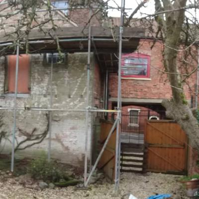 back of house panoramic right