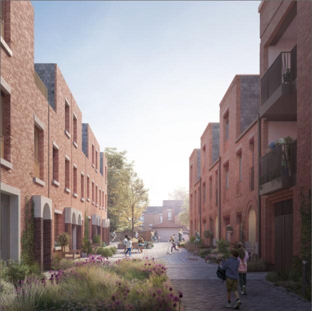 Little Street (Still Green on right)