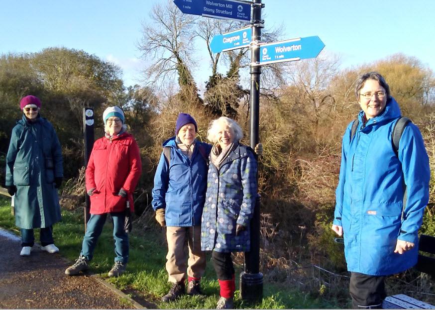 Walking to Wolverton