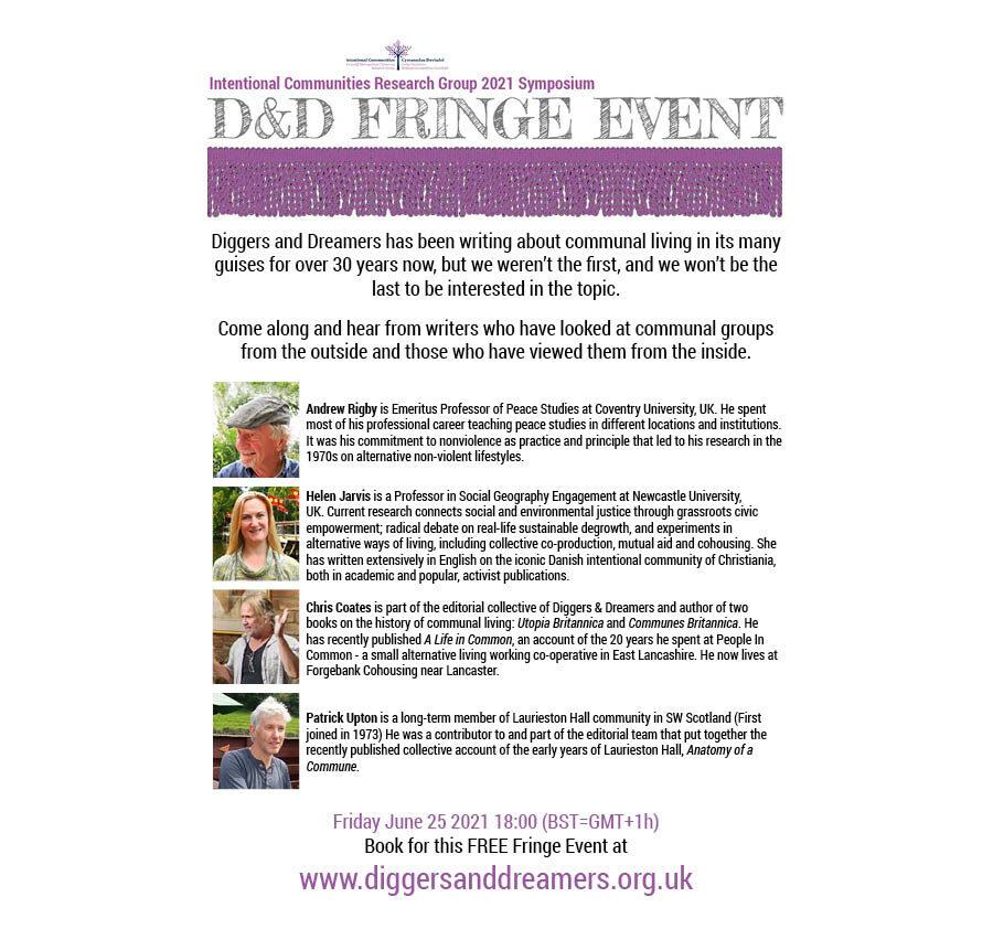 2021 Symposium Fringe flyer